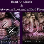 Review: Hard as a Rock & Between a Rock and a Hard Place (Paranormal Protection Agency, #1 & #2) by Mina Carter