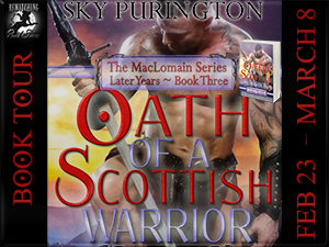 Oath of A Scottish Warrior Button 300 x 225