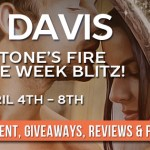 Sunstone's Fire (Cursed in Stone) by Lia Davis (Tour) ~ #Giveaway