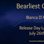 Release Day Launch: Bearliest Catch (Grizzly Cove #6) by Bianca D'Arc ~ Excerpt/Giveaway