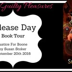 Release Day: Justice for Boone (Badge of Honor: Texas Heroes #6) by Susan Stoker