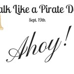 Ahoy! Talk Like a Pirate Day + #Giveaway