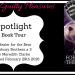 A Healer for the Bear: Sarkozy Brothers # 3 by Meredith Clarke {Tour}
