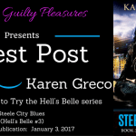 Guest Post: Karen Greco (Steele City Blues)