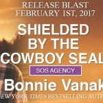 Release Blast: Shielded by the Cowboy SEAL (SOS Agency #2) by Bonnie Vanak ~ Excerpt