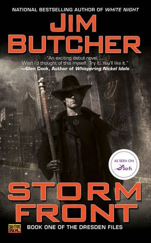 Storm Front Book Cover