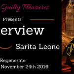 Interview: Sarita Leone (Regenerate) ~ Excerpt