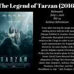 Movie Review: Legend of Tarzan (2016)