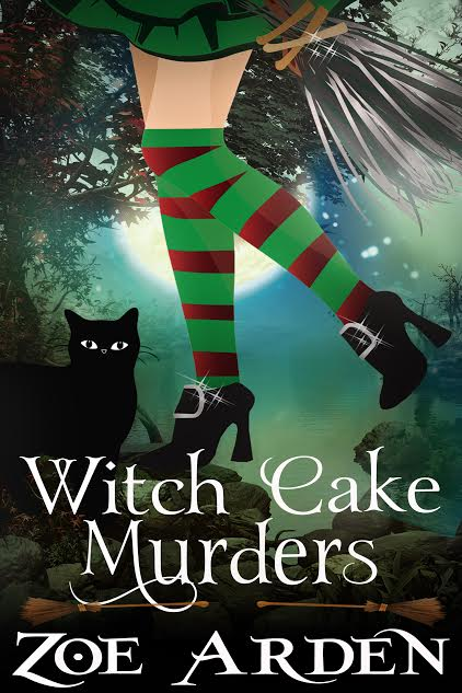 Witch Cake Murders Book Cover