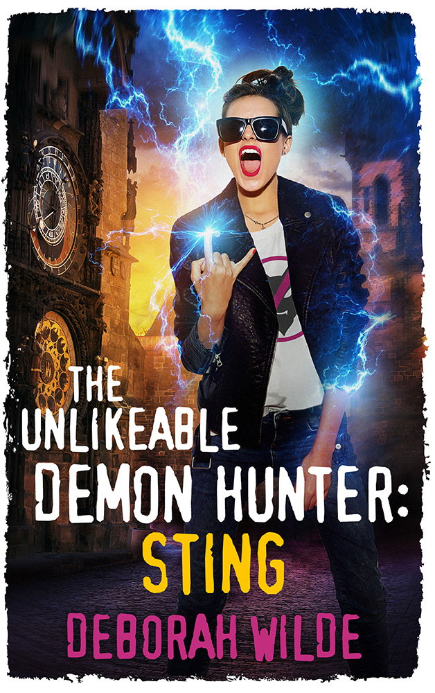 The Unlikeable Demon Hunter: Sting Book Cover