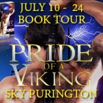Pride of a Viking (The MacLomain Series: Viking Ancestors' Kin #5) by Sky Purington ~ Giveaway/Excerpt