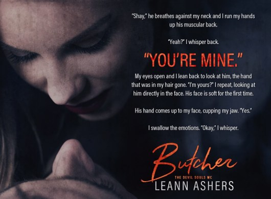 Excerpt Reveal Butcher Devil Souls Mc 3 By Leann Ashers