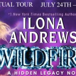 Wildfire (Hidden Legacy #3) by Ilona Andrews (Tour) ~ Giveaway/Excerpt