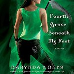 Audiobook Review: Fourth Grave Beneath My Feet (Charley Davidson #4) by Darynda Jones (Narrator: Lorelei King)