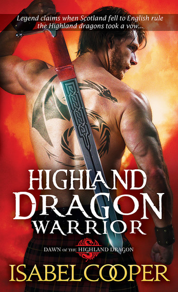 Highland Dragon Warrior Book Cover