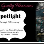 Excerpt: Caressed by the Edge of Darkness by Amanda J. Greene (Tour)