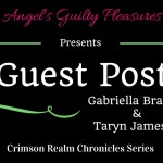 Guest Post: The Inspiration Behind the Crimson Realm Chronicles
