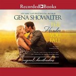Audio Review: The Harder You Fall (The Original Heartbreakers #3) by Gena Showalter (Narrator: Savannah Richards)