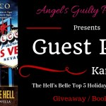 Guest Post: The Hell's Belle Top 5 Holiday Songs Ranked (Sin City Salvation by Karen Greco) ~ #Excerpt #BookTour