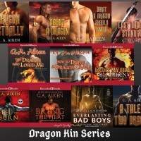 Audiobook Review: Dragon Kin Series by G.A. Aiken ~ #Giveaway