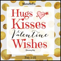 Hugs Kisses Valentine Wishes Giveaway Hop ~ Feb. 1st - 15th