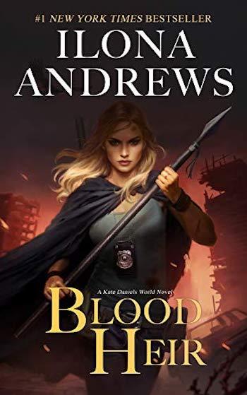 Blood Heir Book Cover