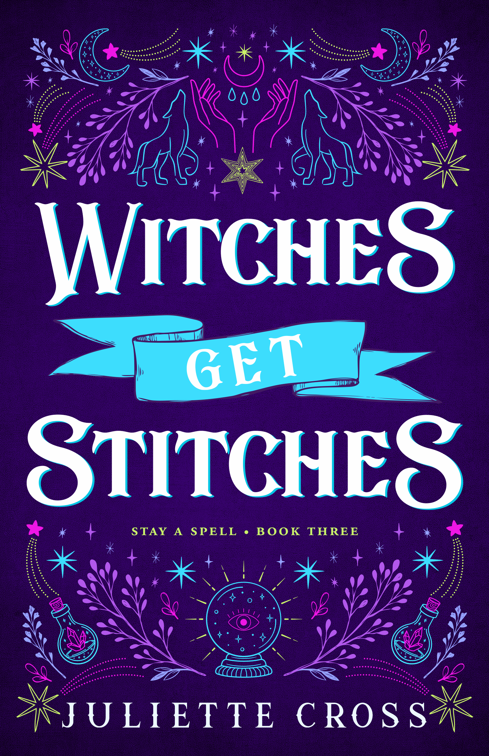 Witches Get Stitches Book Cover