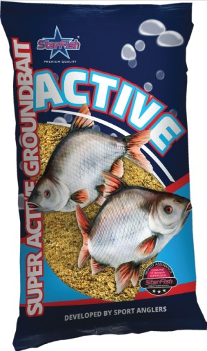 Futtermittel ACTIVE Groundbait 650g In 6 Verschiedenen Sorten