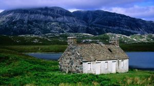 Angelsportion Shack by the Loch