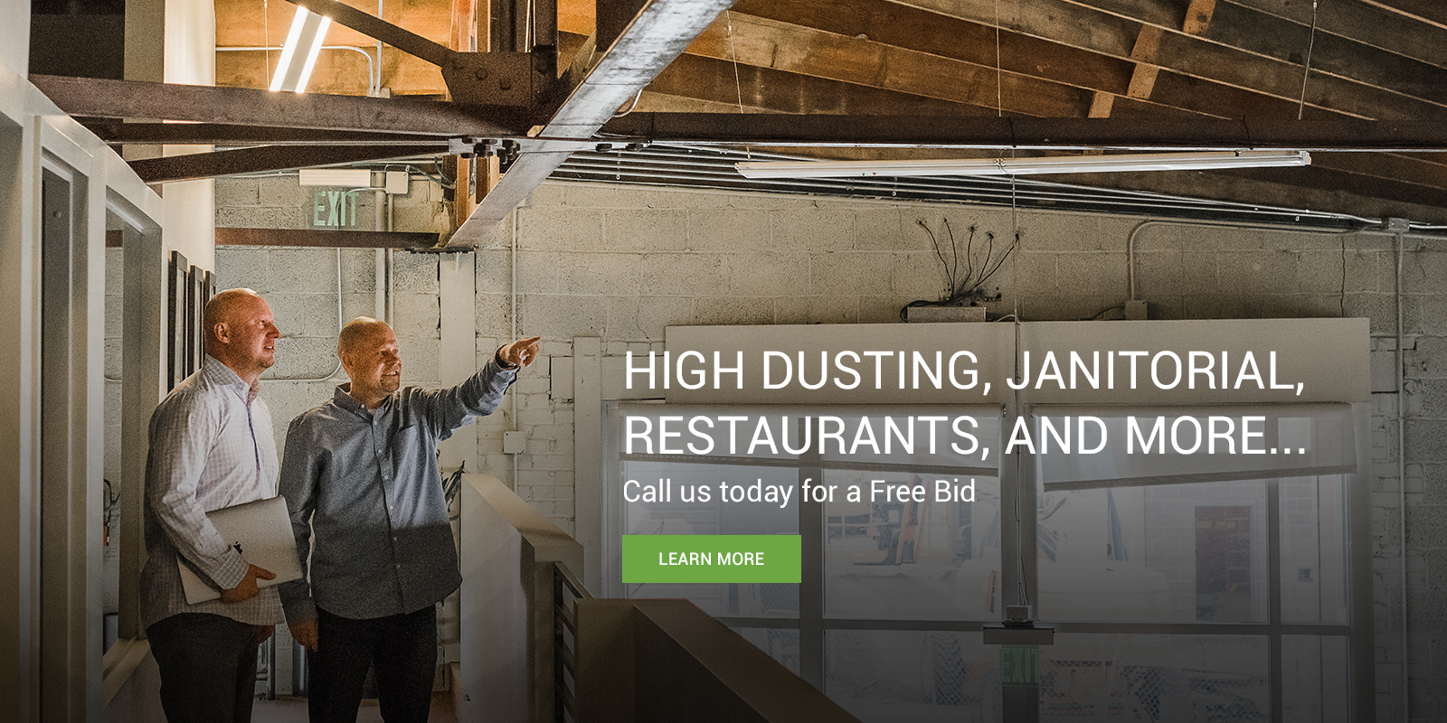 High Dusting, Janitorial, Restaurants and More