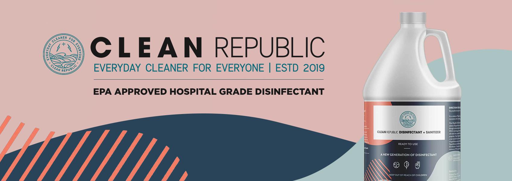 Clean Republic Disinfectant