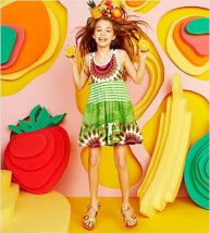 Desigual CANETO dress for girls. $64. All Desigual for kids on sale at 20% off for Gastown Shop Hop.