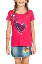 Desigual ALMADEN heart T-shirt. $48.