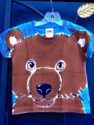 Angel kids bear shirt by Justine Brown. Fall 2015.