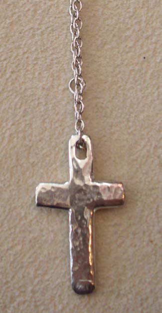 Hanging Cross Charm