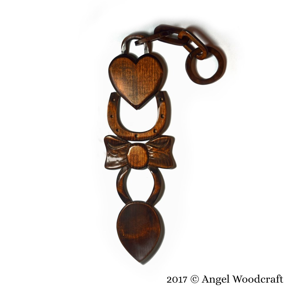 44 - Special Occasion Welsh Love Spoon 3