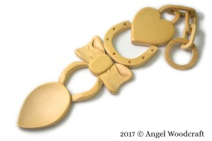 Special Occasion Welsh Love Spoon