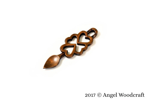 Best Wishes Welsh Love Spoon