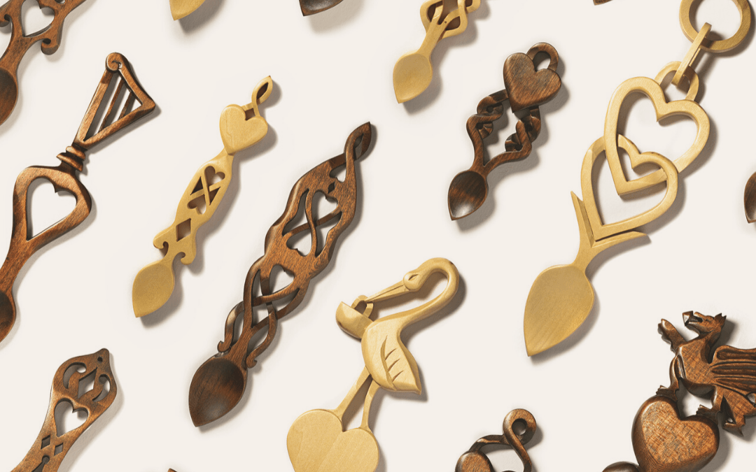 Hand Carved Lovespoons