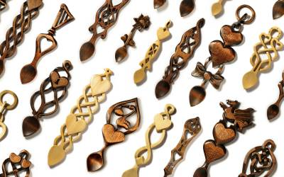 The Different Symbols On Welsh Lovespoons