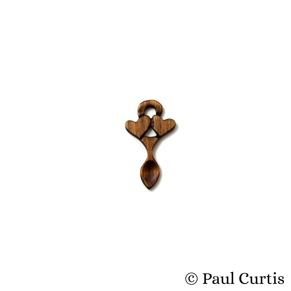 Endearing Love Miniature Welsh Love Spoon - WM15 3
