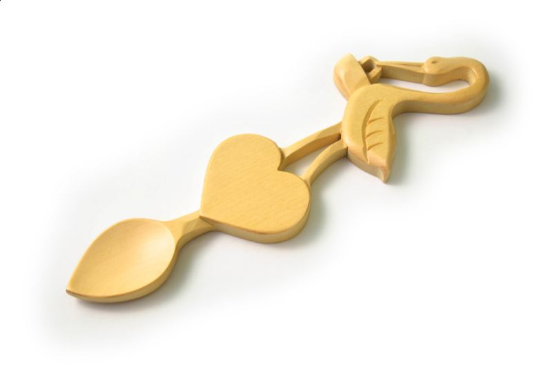 Welsh Love Spoons Gifted For Whitland WI Centenary