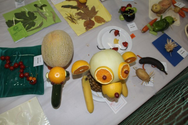 These kids vegetable creations brought back memories of school