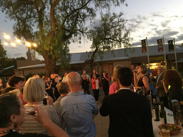 Launch of the Barossa Vintage Festival 2015 at the Festival Hub, Visitor Information Centre, April 14 2015