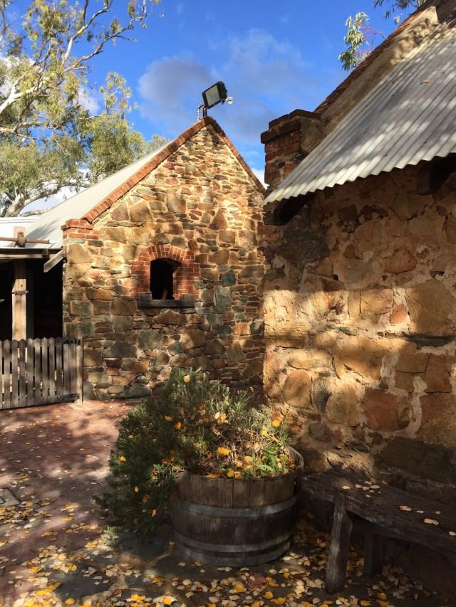 Courtyard at Rockford Wines