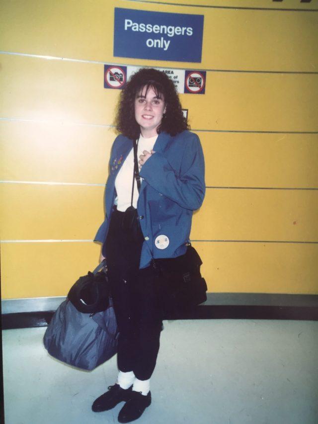 Leaving Sydney - 6 January 1992