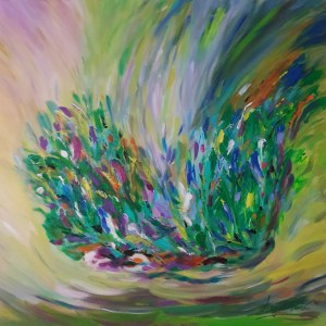 Painting Spring Bouquet