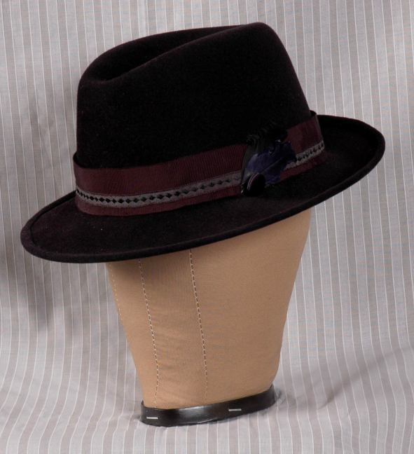 All of these hats have a wire in the brim and head size ribbons on the inside.