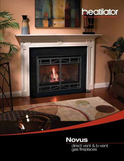 Heatilator Novus