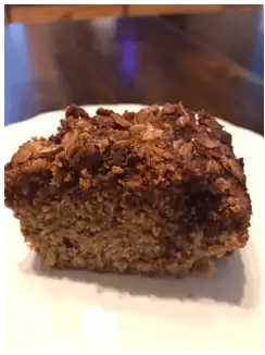 cut coffee cake